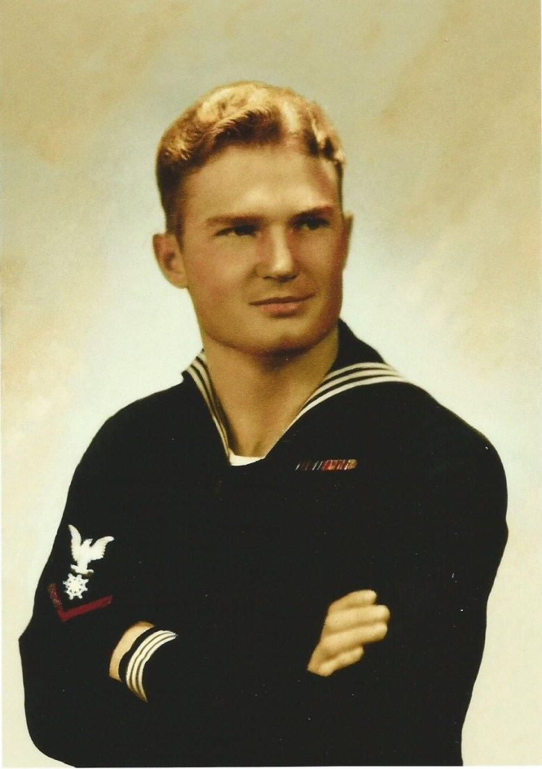 Adolph Hoffman while serving in the United States Navy.