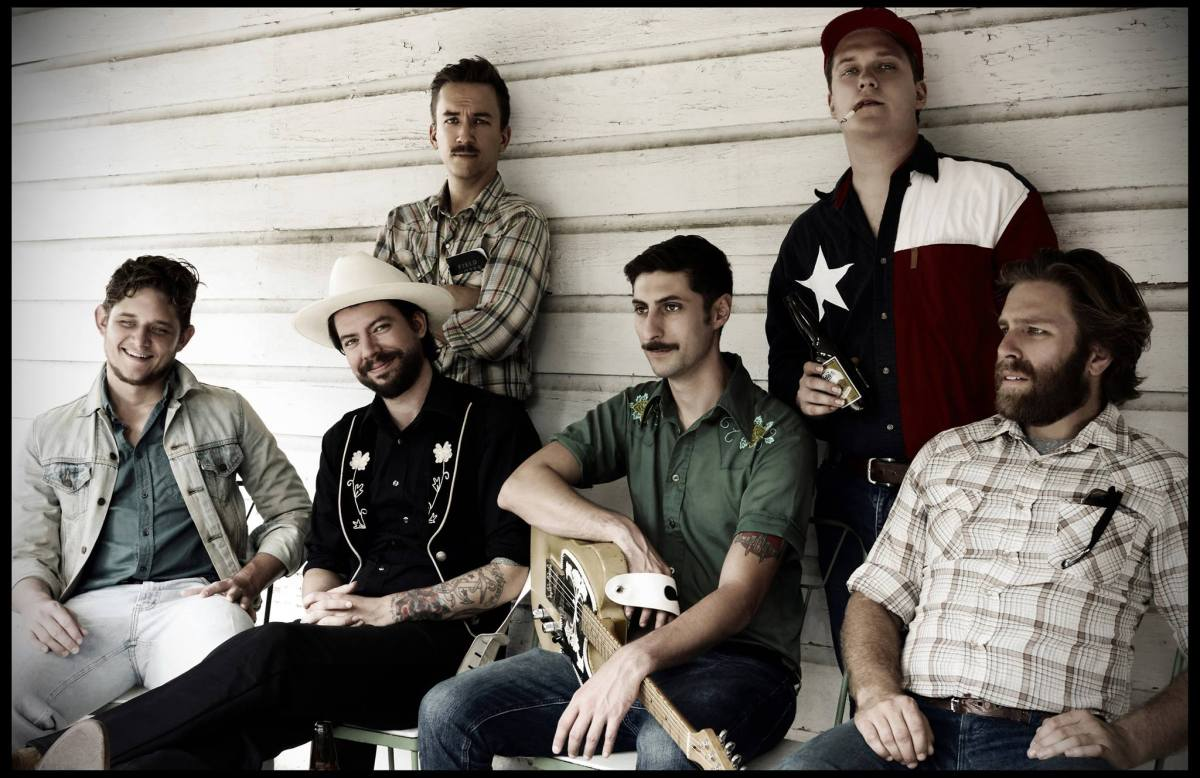 The Texases consist of (from left) Mike Kelly, DT Buffkin, Jerid Morris, Charlie Cruz, Jase Brown, and Nick Richman.
