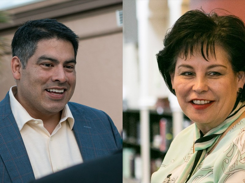 Manny Palaez and Cynthia Brehm