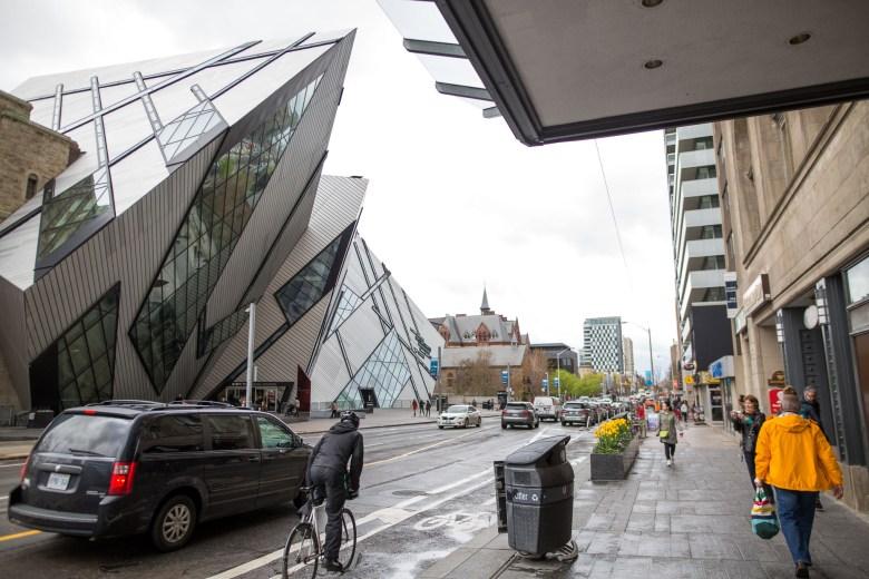 The Royal Ontario Museum.