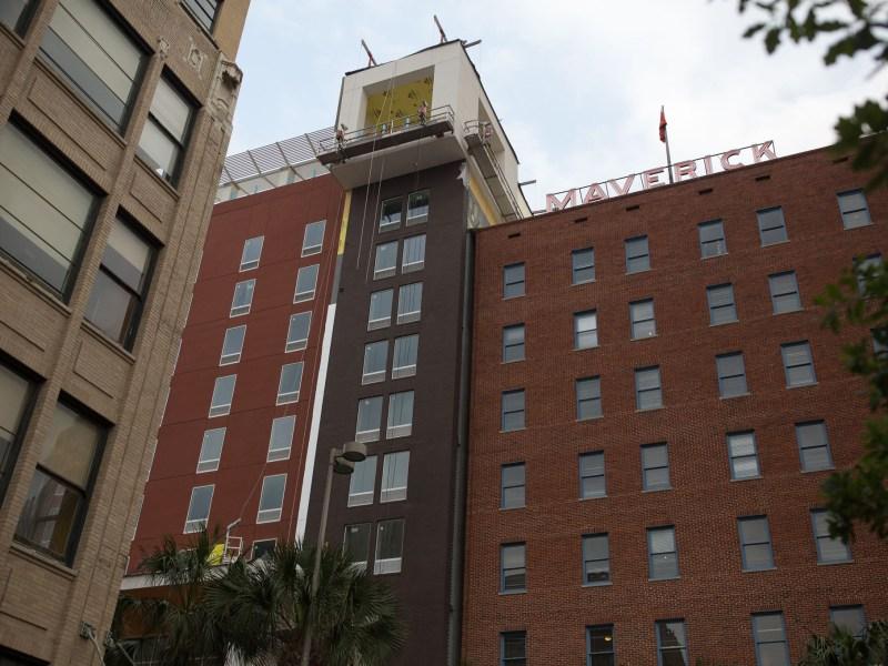The Maverick Apartments at 606 North Presa.