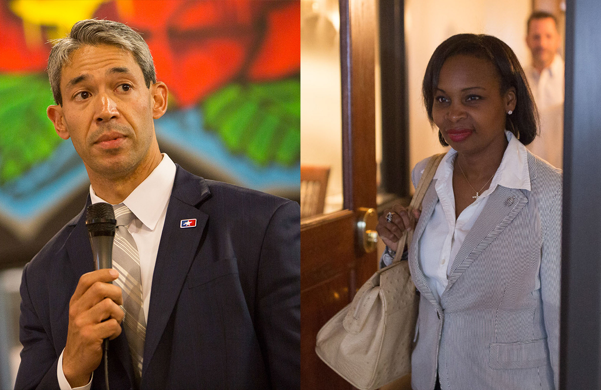 Ron Nirenberg and Ivy Taylor will be working to gain the majority vote for the mayorship.