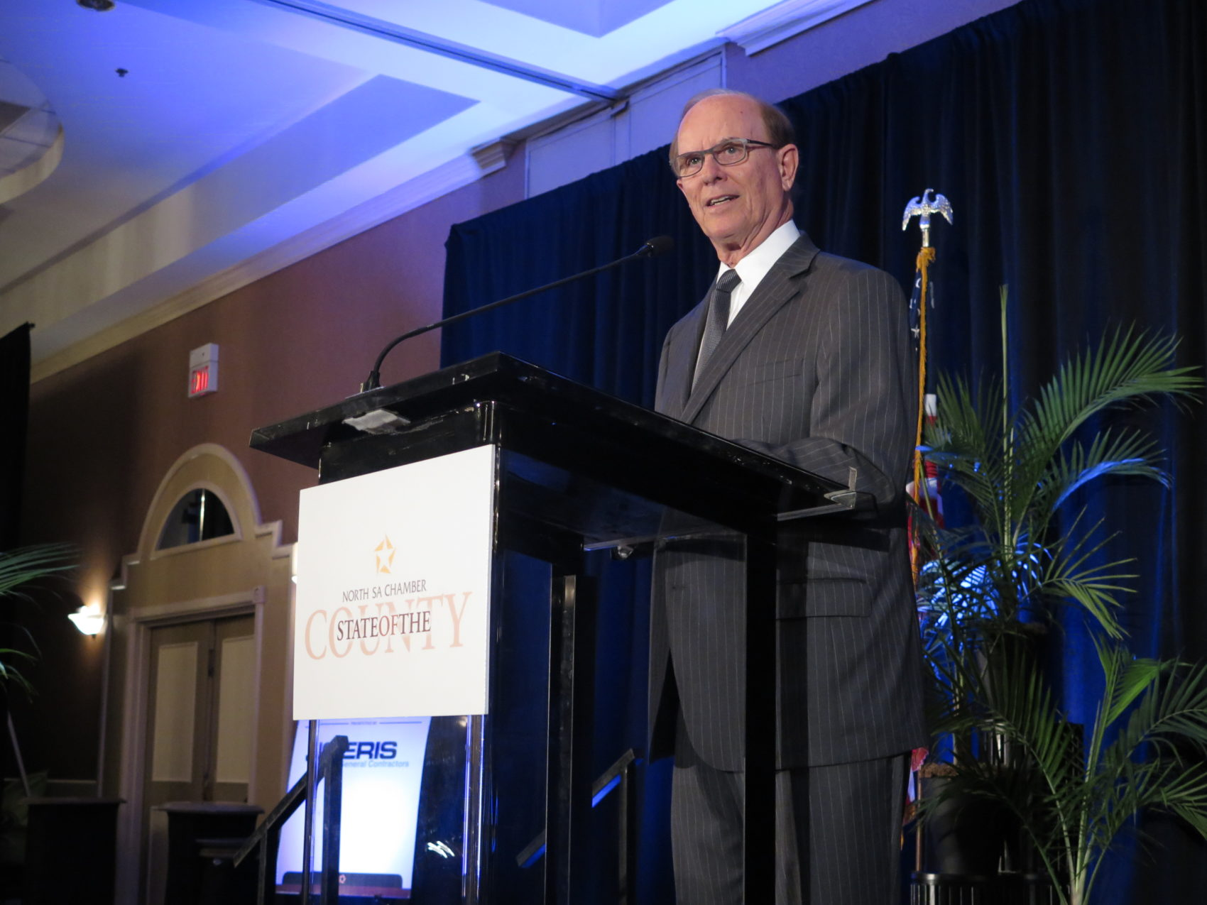 Bexar County Judge Nelson Wolff gives his 2017 State of the County address.
