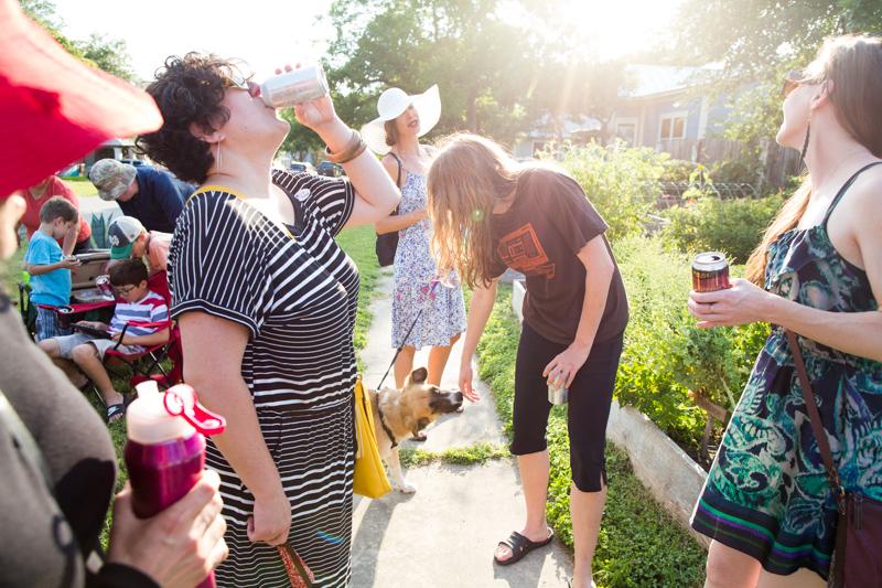 Neighbors unite in Alta Vista for PorchFest 2017.