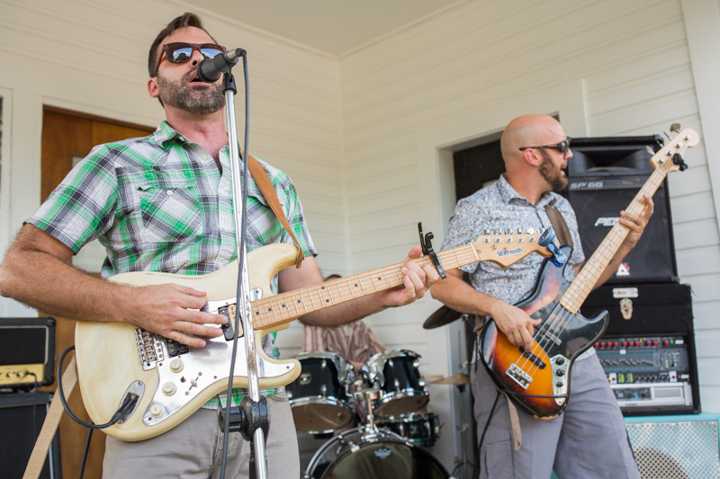 Keel In The Hurricane perform live during PorchFest 2017.