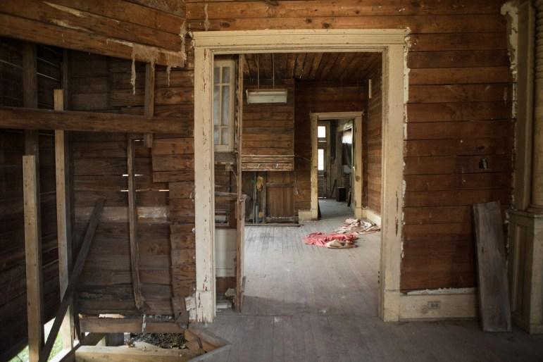 Miguel Calzada's home in Beacon Hill awaits its rehabilitation.