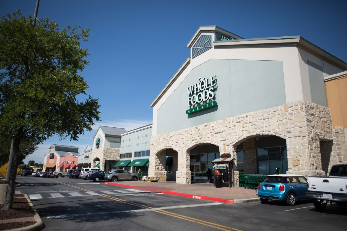 Whole Foods Market is located in the Alamo Quarry.