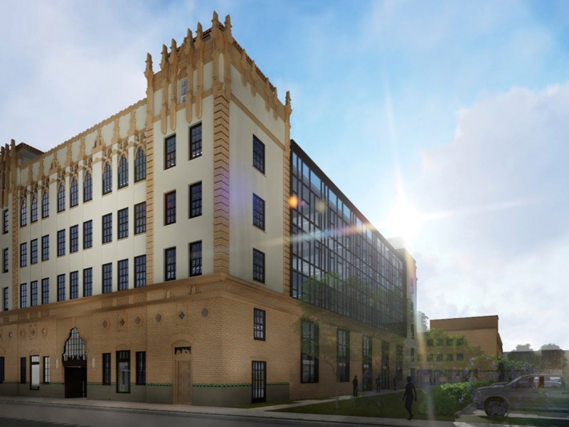 The former San Antonio Light headquarters are slated for renovation this spring.