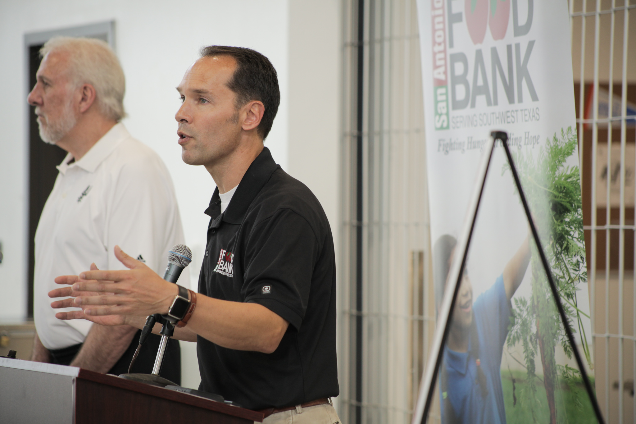 San Antonio Food Bank President & CEO Eric Cooper encourages the community to donate their time and food to the Food Bank this summer.