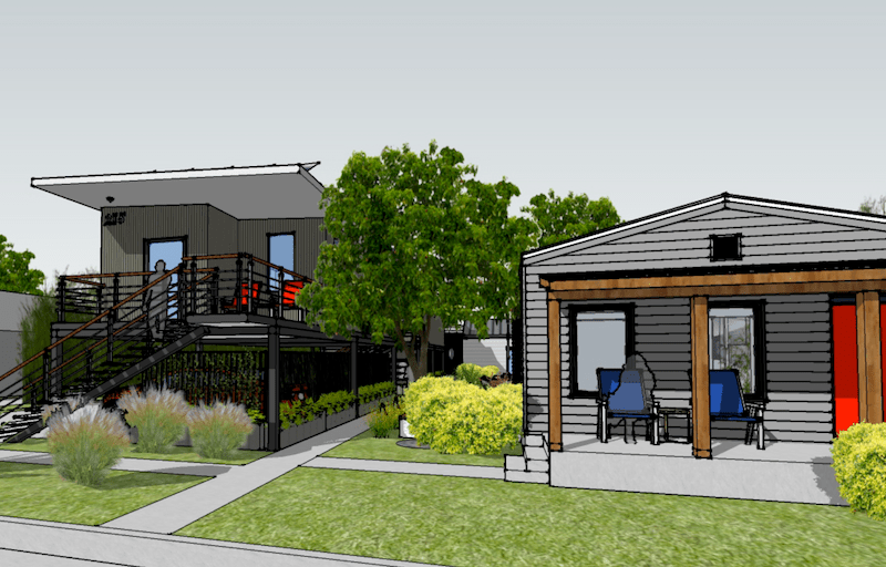 The Porter Street Greens will be located in the near Eastside neighborhood of Denver Heights.