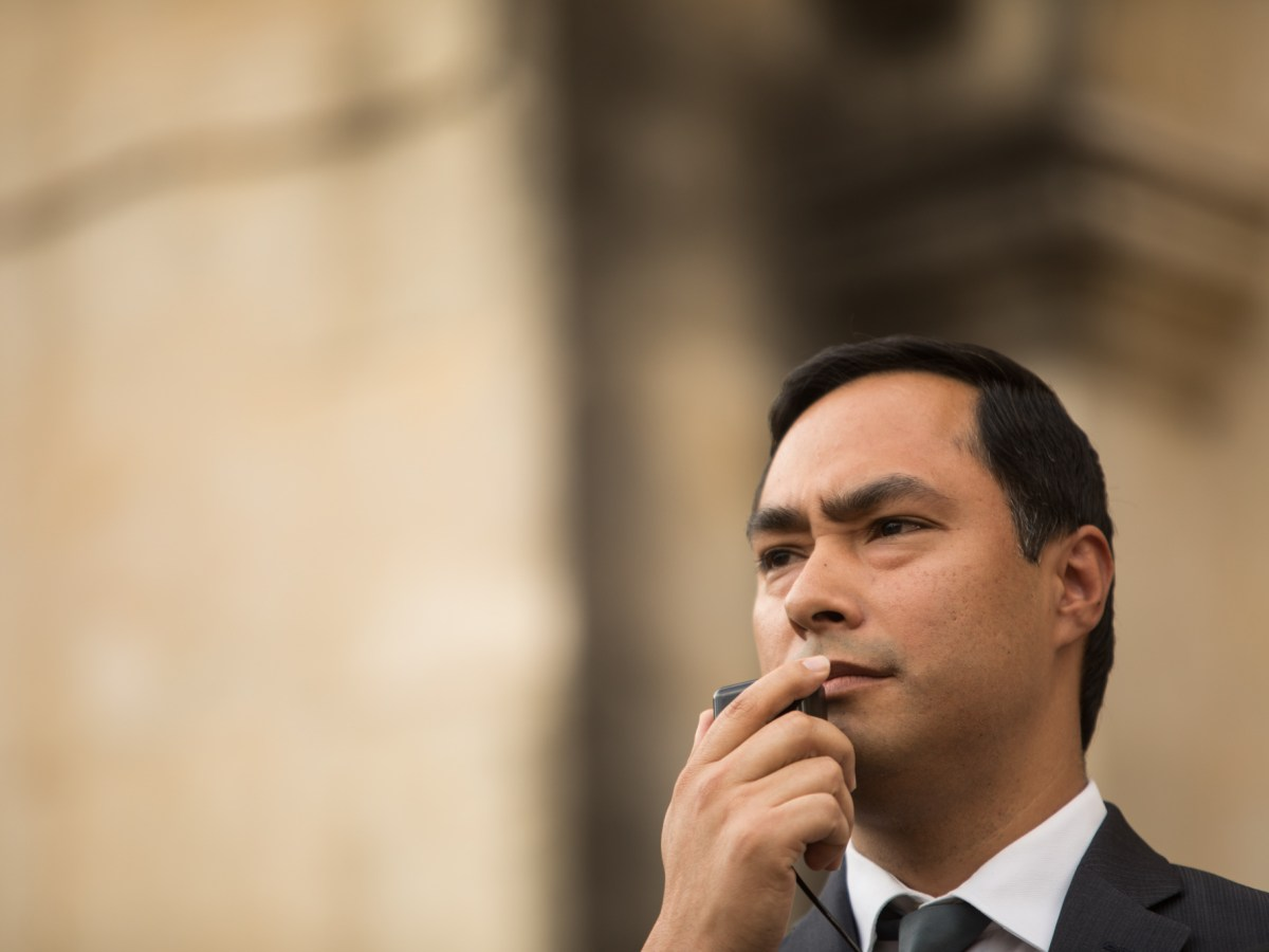 Following a new report released by the Government Accountability Office Congressman Joaquin Castro (D-Texas) gives a speech about the lack of Latino representation across the media industry Tuesday.