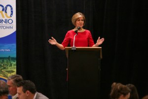 San Antonio City Manager Sheryl Sculley.