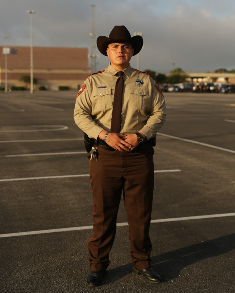 Luis Zuniga from the Hildago County Constable Office.