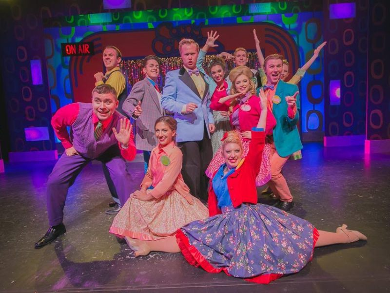 The cast of Hairspray performs at the Playhouse San Antonio.