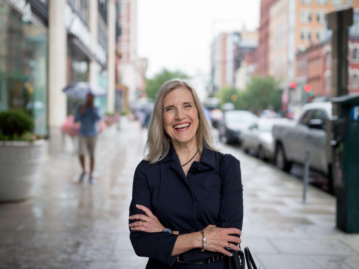 Rivard Report editor-in-chief Elizabeth Frerking.