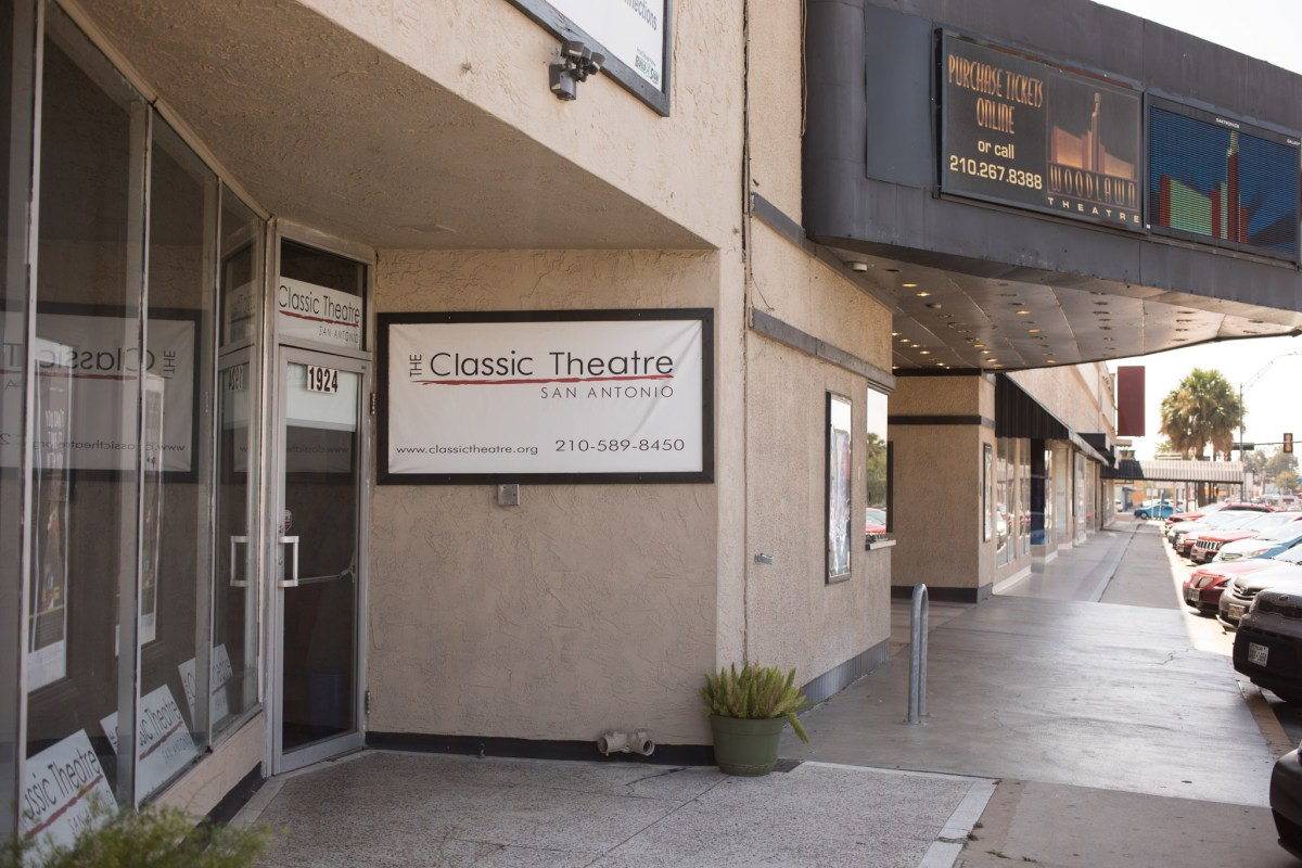 The Classic Theatre of San Antonio is located at 1924 Fredericksburg Rd.