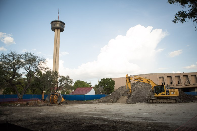 The Area Foundation Development is under construction.