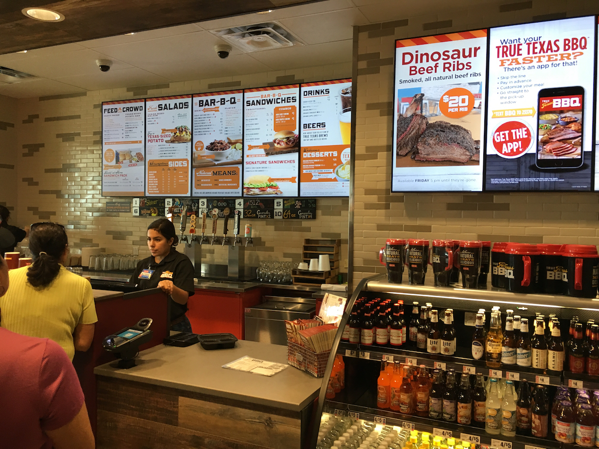 The new True Texas BBQ Restaurant at H-E-B is the first among nine in the state that serves breakfast.