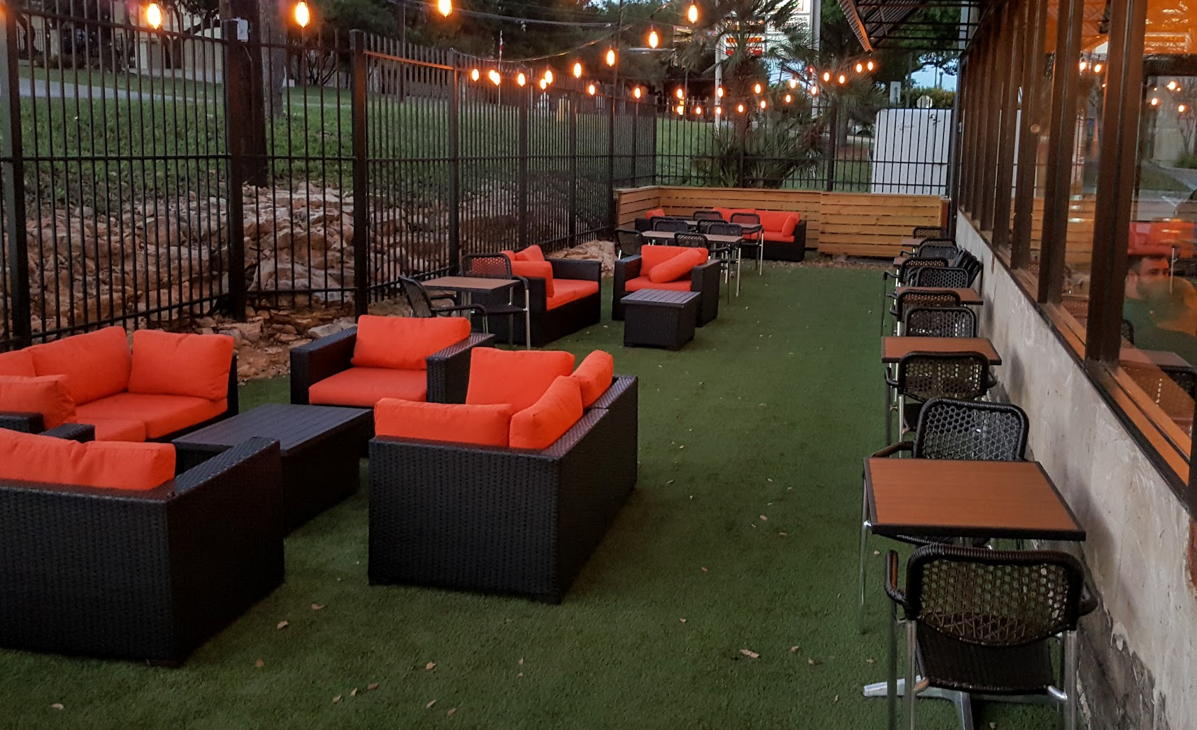 The patio at Weathered Souls Brewing Co.
