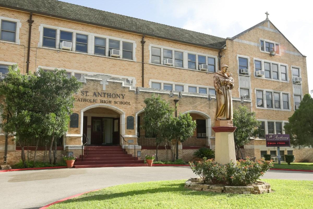 St. Anthony Catholic High School is located in San Antonio's Monte Vista neighborhood.