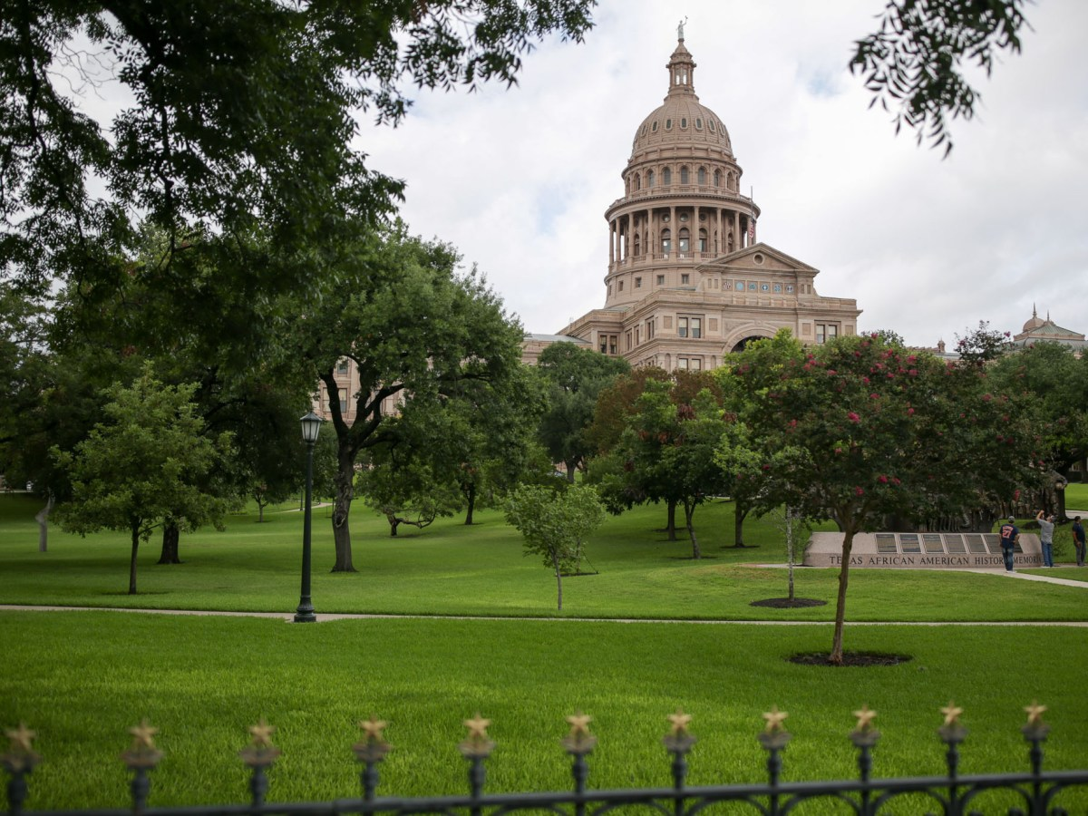 The Texas State Capitol in Austin Texas.