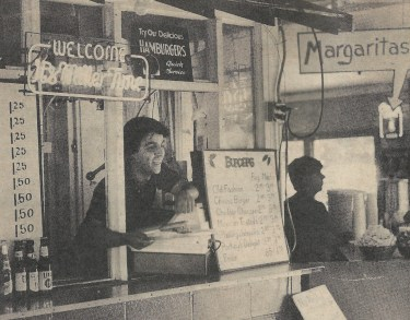 Chris Madrid during the early ears after he opened his restaurant in 1977.