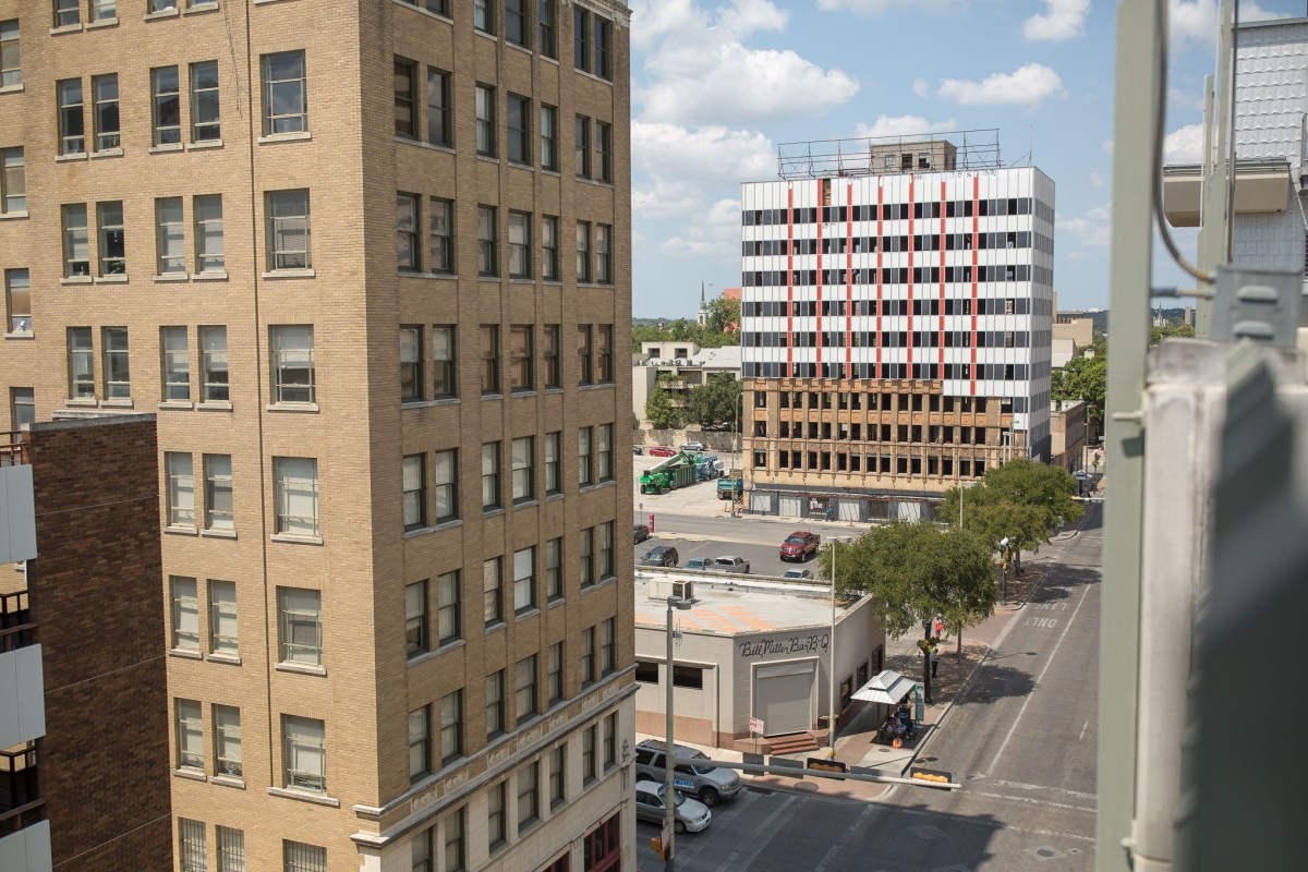 The Hedrick Building at 601 North Saint Mary's.