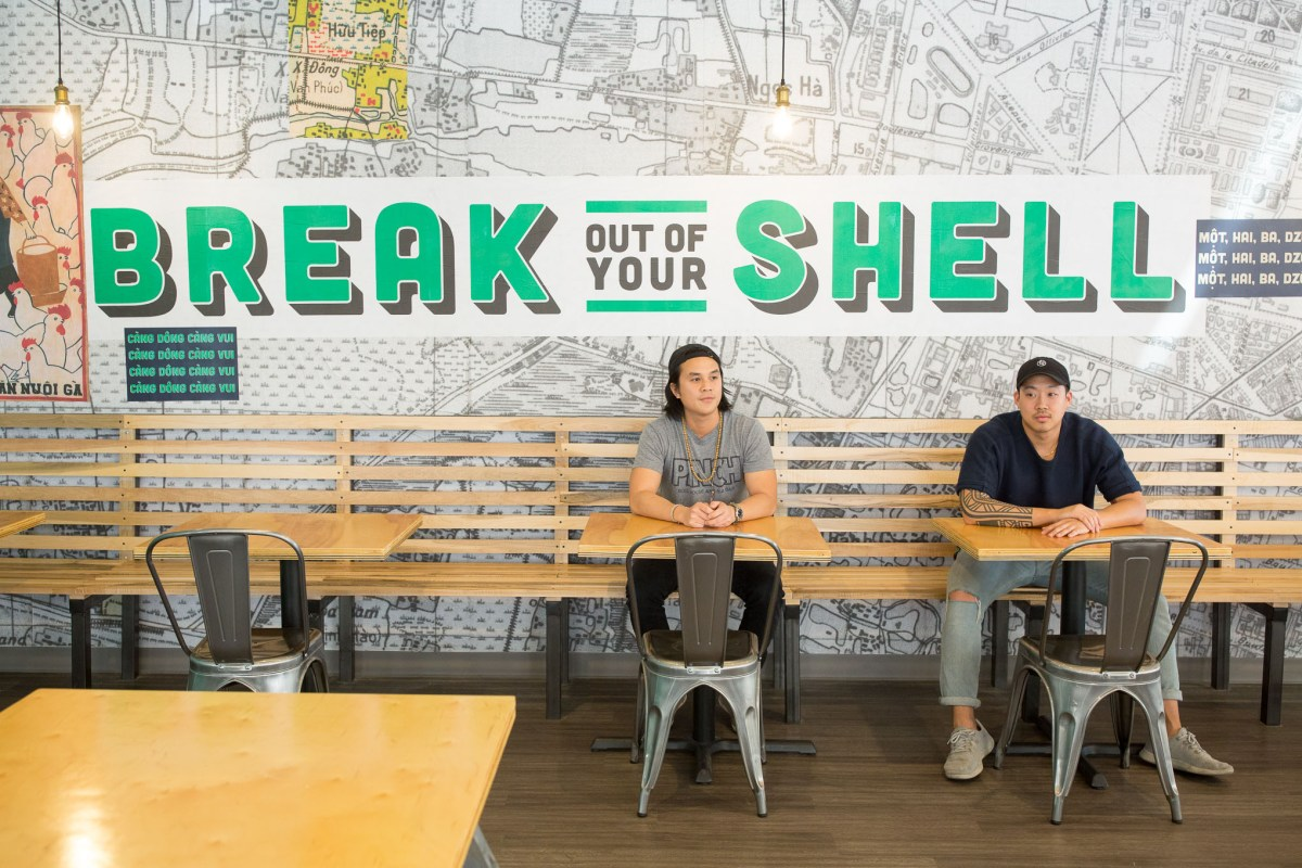 Co-Founders of Pinch Boil House and Bia Bar Andrew Ho and Sean Wen will open for business on Friday September 8th.