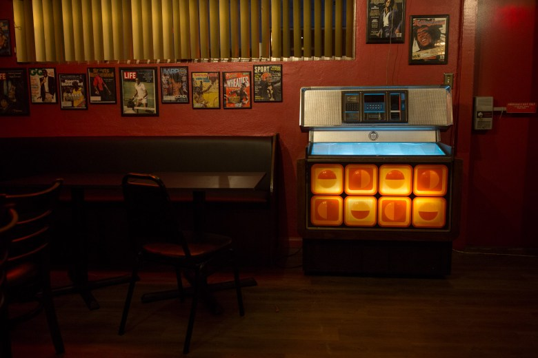 The jukebox that has been a staple at Tucker's continues to operate under new management.
