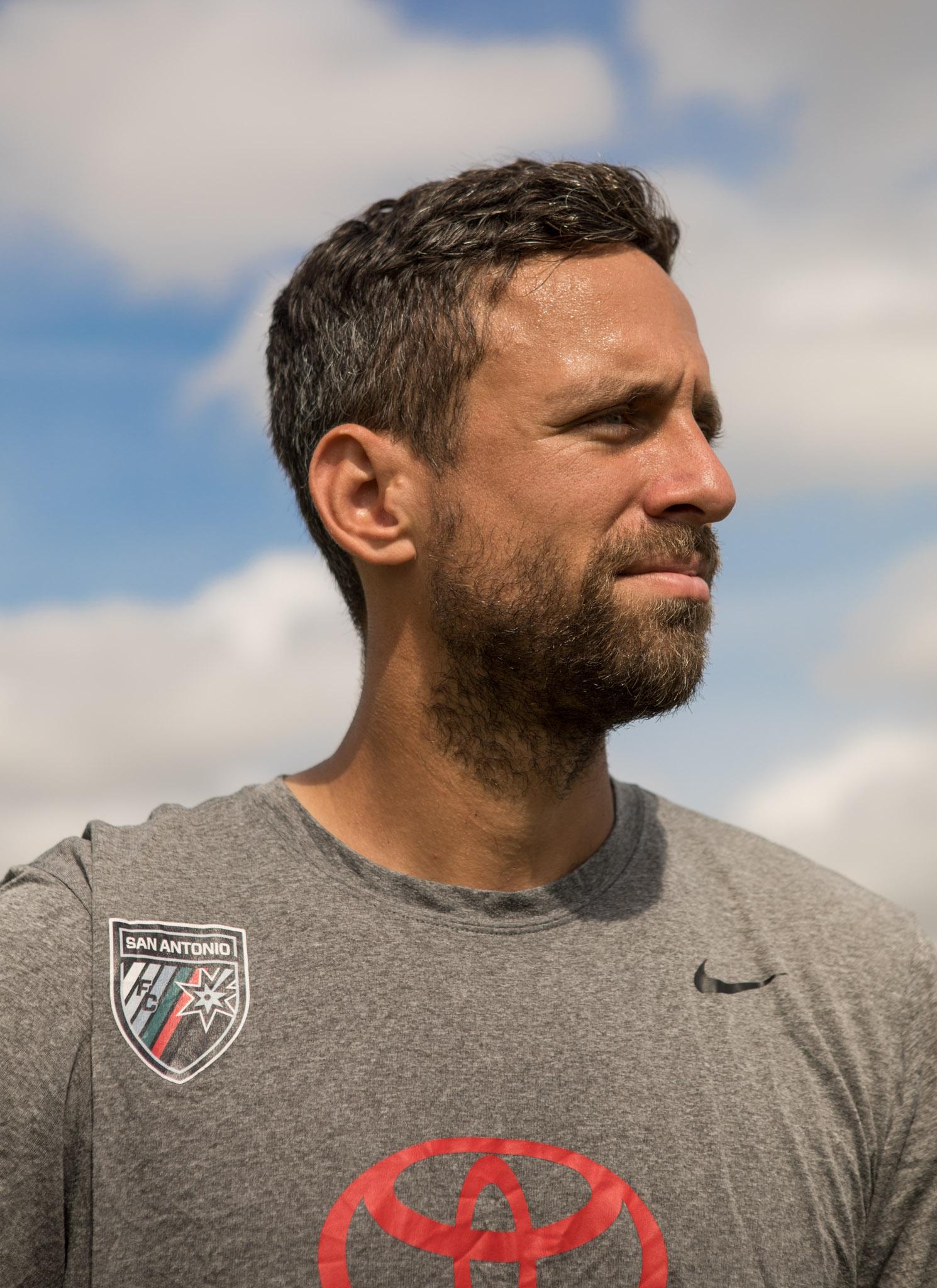 San Antonio FC's Ryan Roushandel.