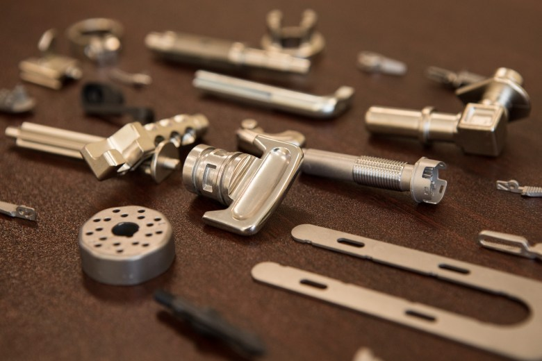 A collection of Indo-MIM metal injection molded parts.