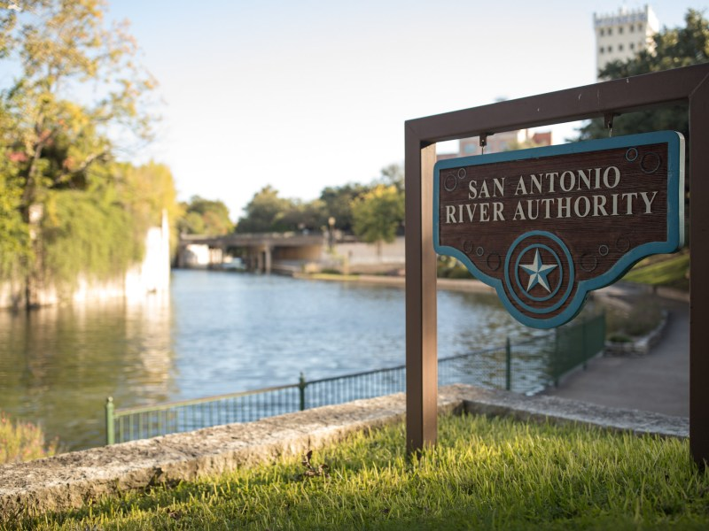 The San Antonio River Authority headquarters located along the San Antonio River in the King William neighborhood.