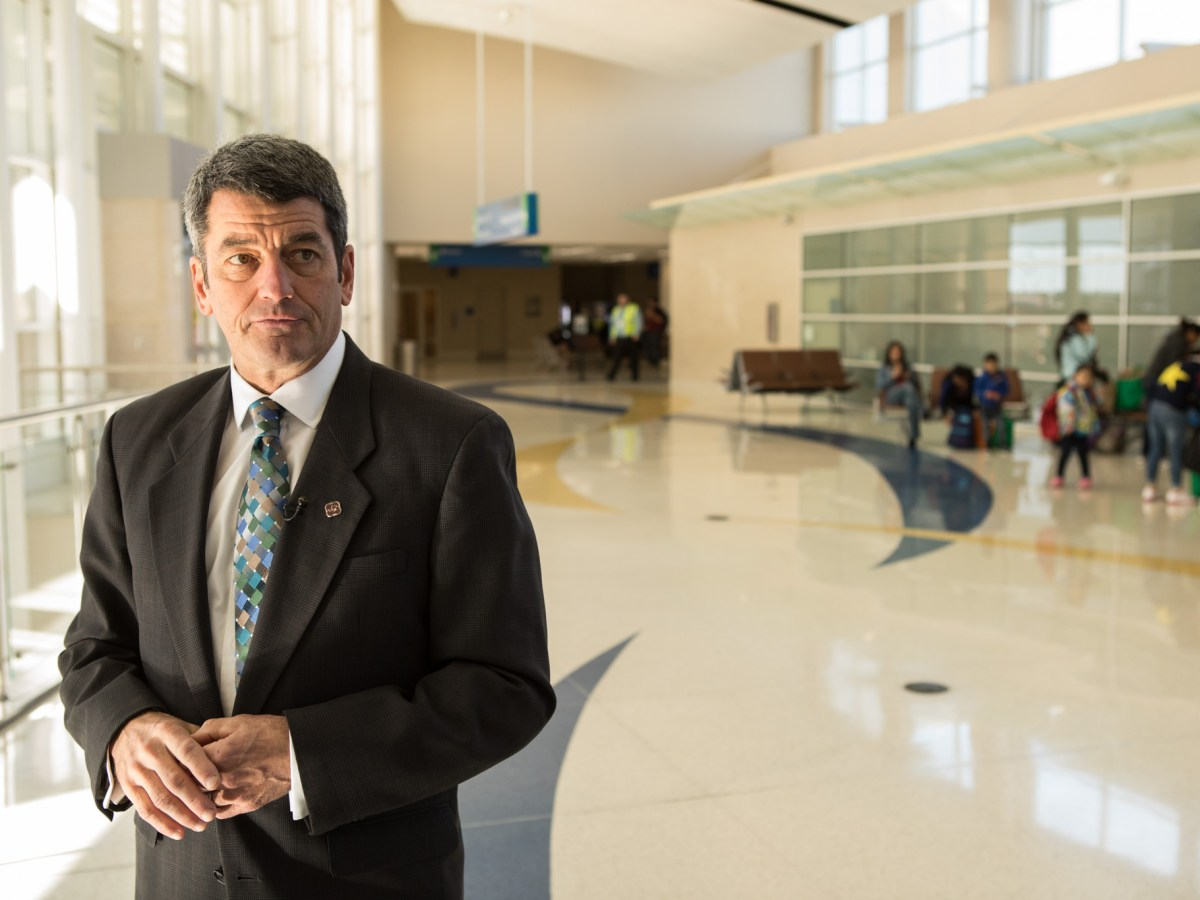 City of San Antonio Director of Aviation Russ Handy.