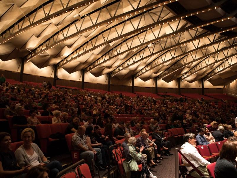 Laurie Auditorium in Trinity University.