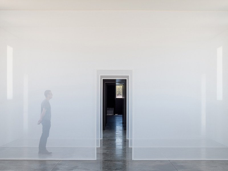 Ford Powell & Carson partnered with artist Robert Irwin to complete an architectural installation in Marfa, Texas.
