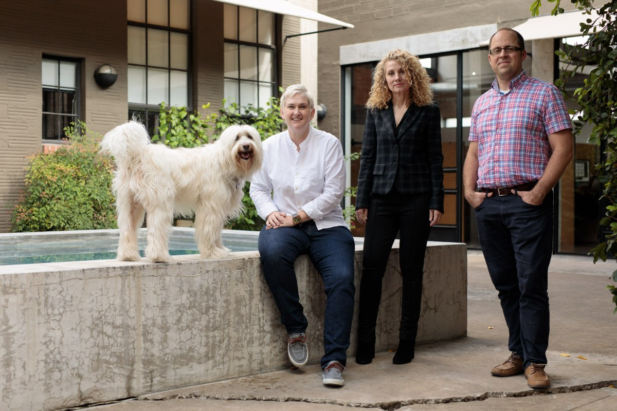 (from left) WebTegrity Co-Founder Kori Ashton, Giles-Parscale Co-Founder Jill Giles, and Cloud Commerce CEO Andrew Van Noy.