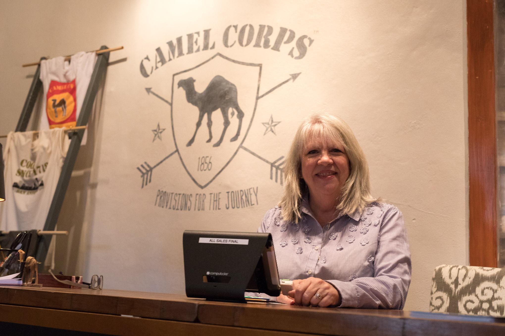 President of the La Villita Tenants Association Deborah Sibley