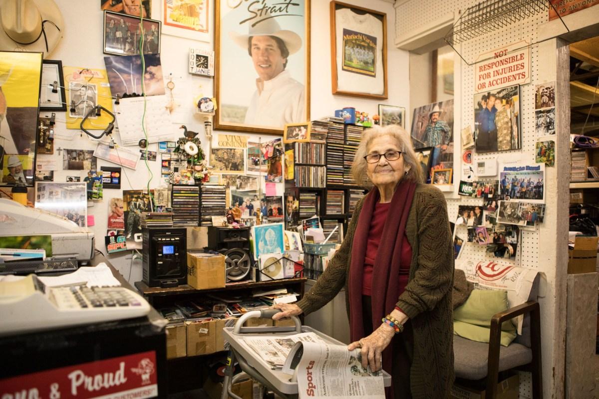 Janie Esparza founded Janie's Record Shop.