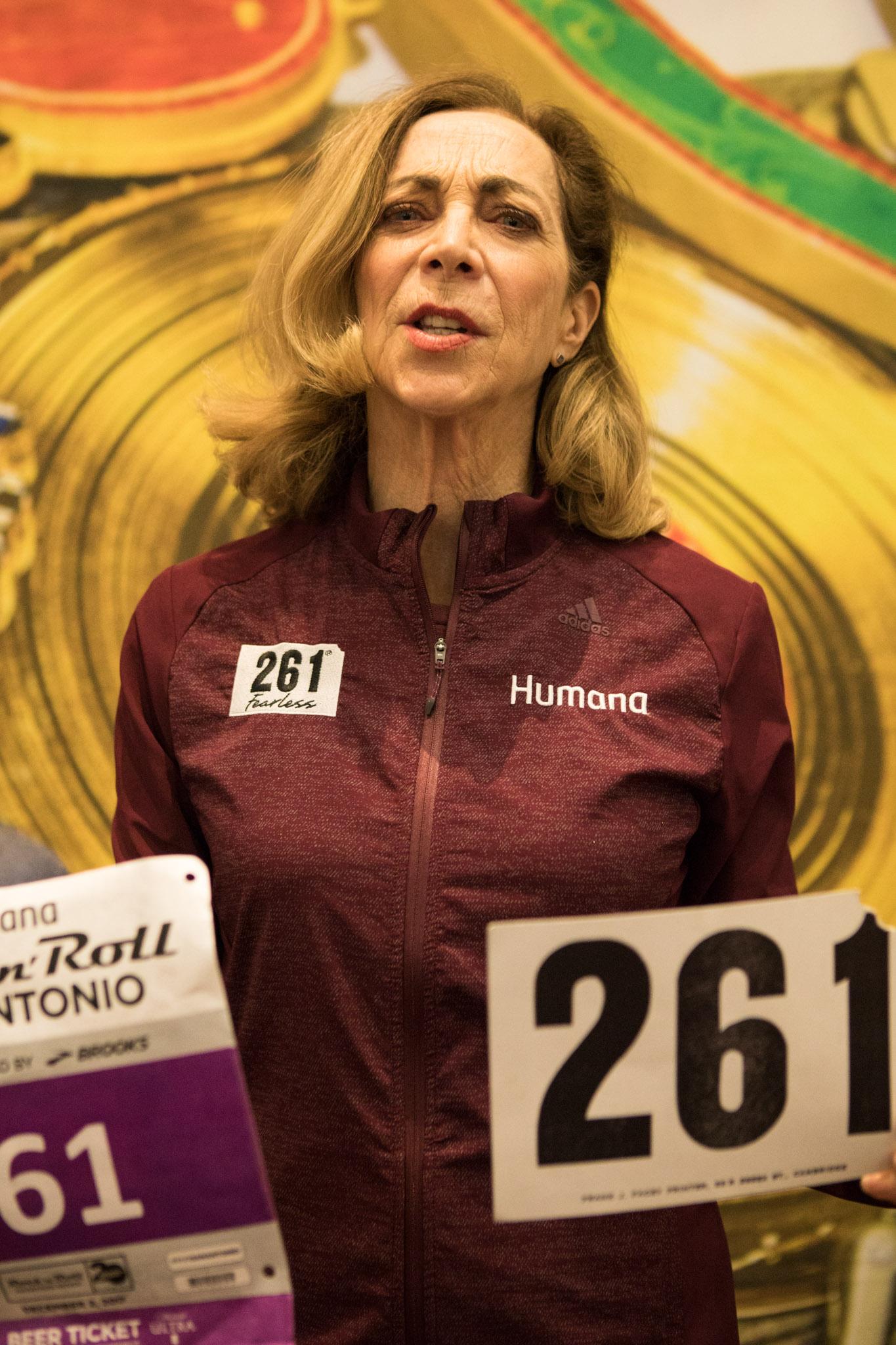 Woman's Running Pioneer Kathrine Switzer