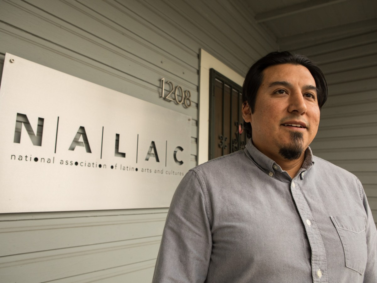 National Association of Latino Arts and Cultures (NALAC) Database & Digital Media Specialist Luis Garza