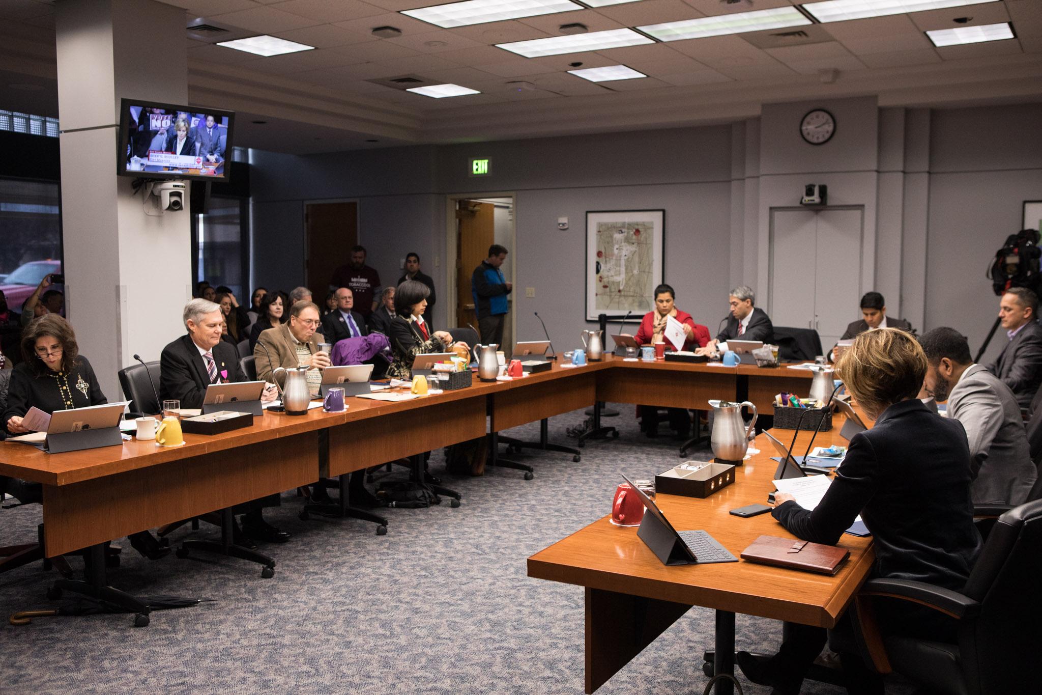 City Council B Session.