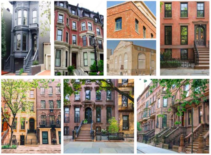 Terramark Urban Homes' City Center development is inspired by urban brownstones often seen in the Northeast.