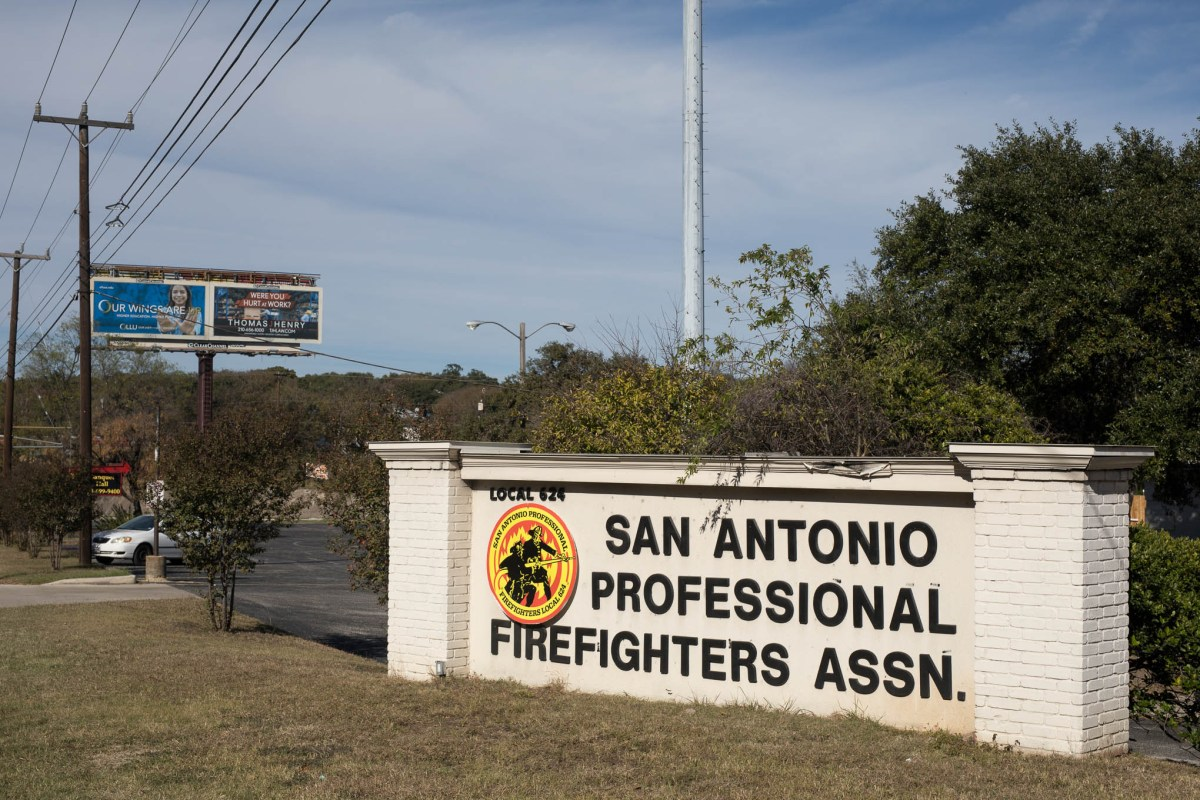 The San Antonio Professional Firefighters Association Headquarters.