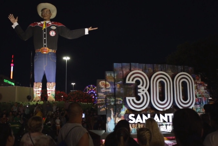 Visit San Antonio secured a float in the 2017 State Fair of Texas parade in Dallas.