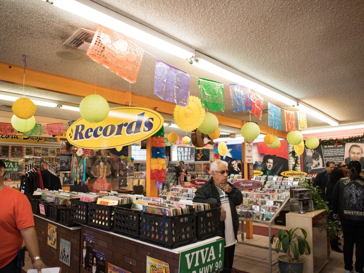 Del Bravo Record Shop