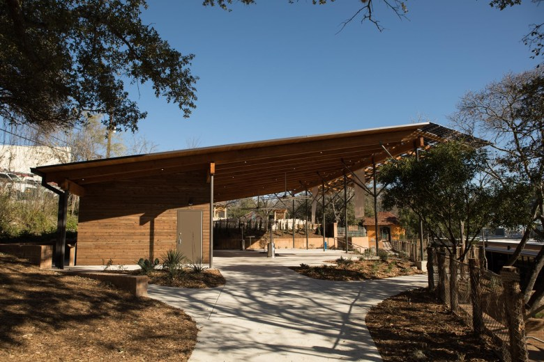 The Conservation Pavilion at Will Smith Zoo School.