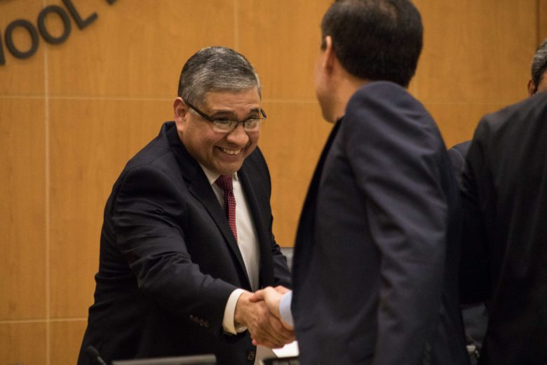 Chief Academic Officer Phillip Chavez was named Emilio Castro's interim replacement.