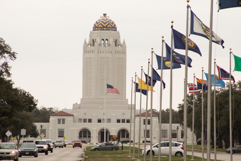 """Building 100 or """"The Taj Mahal"""" at Joint Base San Antonio-Randolph."""