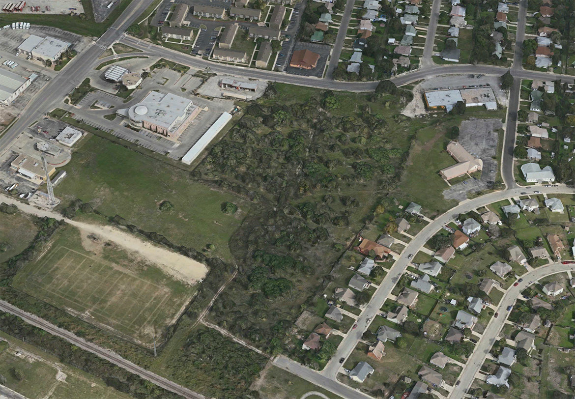 The site of the Echo East development located at 301 Spriggsdale Avenue.