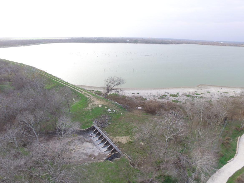 Mitchell Lake dam